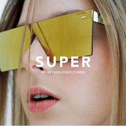 2380558f73e cool SUPER FUTURE Flat Top Sunglasses