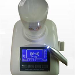 Dental Ultrasonic Pizeo Scaler LED Светодиодный оптический наконечник ЖК-экран CE с 2 бутылками для воды AUTO Liquid Dosing