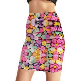 Fesses De Mode Sexy Pas Cher-Paquet Hip Skirt Femme Belle Carry Buttock Jupes Impression Personnalité Fashion Package Slips Jupe courte Sexy Slim Hip jupe