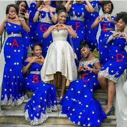 Royal Blue Champagne Wedding Dress Nigeria NZ | Buy New Royal Blue ...