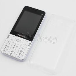 "$enCountryForm.capitalKeyWord Canada - Cheap H-Mobile T2 2.8"" Mobile Phone Dual Sim Quad Band 2G GSM unlocked Phone Back Camera with Flash light Bluetooth FM MP3 no system 10pcs"