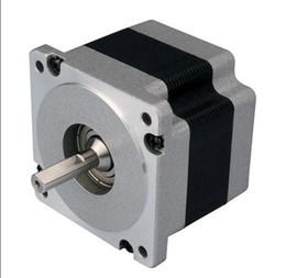 nema 34 stepper motors 2019 - New Leadshine 2-phase hybrid stepper motor 86HS45 NEMA 34 have 8 motor leads  Current  phase 6A  Holding Torque 4.5N CNC