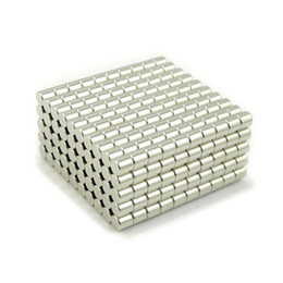 Rare Earth Magnets Free Shipping UK - Wholesale - In Stock 100pcs Strong Round NdFeB Magnets Dia 2x2mm N35 Rare Earth Neodymium Permanent Craft DIY Magnet Free shipping