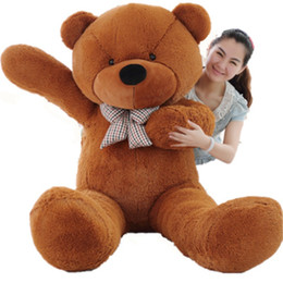 quality plush toys Australia - 120cm giant High quality Low price Plush toys   teddy bear embrace bear doll  lovers christmas gifts birthday gift