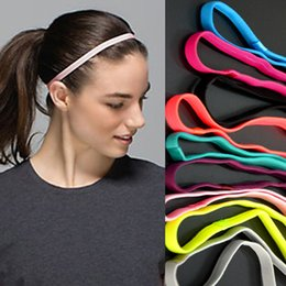Fine Hair Band Headband Canada - Wholesale-Yoga movement slip headband  headgear fine root fitness 8ca420e2c9a