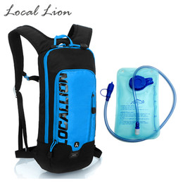 Lion cycLing online shopping - LOCAL LION L Waterproof Polyester Cycling Backpack L Water Bag Women Men Outdoor Backpacks Rucksack Riding Knapsack