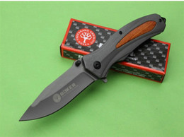Military Tools Canada - Boker F84 Tactical Folding Knives 440C 57HRC Titanium Camping Hunting Survival Pocket Knives Utility Military EDC Hand Tools Collection