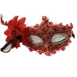 sexy night party bar 2018 - Flower Halloween MaskS Sexy Masquerade Masks Dance Party Bar Princess Venice Mask Night Club Rose Party Mask Supplies FR