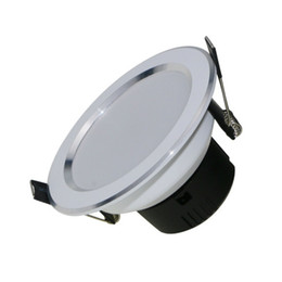 aluminum recessed ceiling lights Australia - led lights downlight 3W 5W 7W 9W 12W smd down light recessed ceiling down lights indoor lights AC85-265V CE ROHS FCC SAA UL