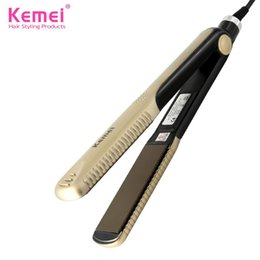Discount new straighteners Wholesale-2016 New hair straighteners Professional Hairstyling Portable Ceramic Hair Straightener Irons Styling Tools Free Shipping