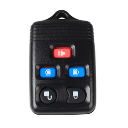 replacement cases for car remotes NZ - Guaranteed 100% 5Buttons Replacement Keyless Remote Fob Key Car Shell Case RUBBER PAD SHELL KEYLESS ENTRY FOR FORD Free Shipping