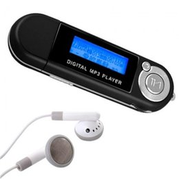 Usb Pen Mp3 Player Radio Canada - 2GB LCD MP3 Player USB Flash Drive Built in FM Radio
