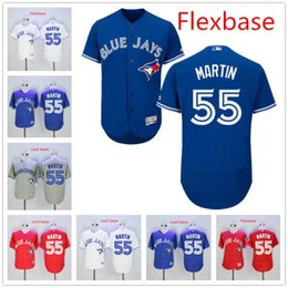 separation shoes 30100 8f14f mens toronto blue jays 55 russell martin 40th patch blue jersey