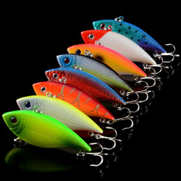 fishing lures walleye bass Australia - 8 Colors VIB Hard Lures 7.1cm 11g All Water Freshwater Saltwater Bass Walleye Fishing Lure Swim Bait Set