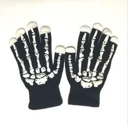 discount halloween prop ghost dancing halloween skull gloves show props dance party ghost terror ghost gloves - Discount Halloween Props