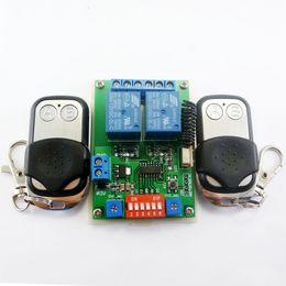 12v dc timer switch online shopping - 2x EV1527 Keyfob DC V Ch RF Timer Delay Relay Remote Switch