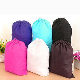 wall beds sale NZ - Wholesale- New Sale Home Laundry Shoe Travel Pouch Portable Tote Drawstring Storage Bag Organizer