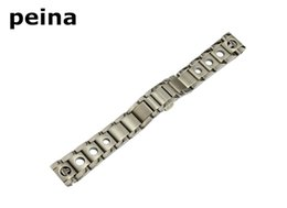 Racing Steel Canada - 20mm ( Buckle 18mm) T91 Watch Band PRS 516 Racing series in Stainless Steel Band
