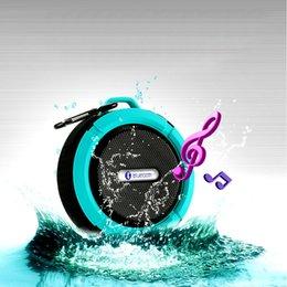 $enCountryForm.capitalKeyWord Canada - Waterproof Speaker C6 Bluetooth Mini Sound Box Hook Suction Cup Wireless Microphone Hands-free sprot speakers Free DHL Fedex