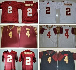 hot sale online a5923 e7bec ncaa jerseys florida state seminoles 2 deion sanders red ...