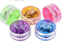 $enCountryForm.capitalKeyWord Canada - Light up Finger Spinning Toys for Kids Chinese YOYO Professional LED Plastic LED Trick Ball Toy for Kids Adult Novelty Games Gifts