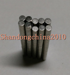 earth magnets NZ - Wholesale - In Stock 200pcs Strong Round NdFeB Magnets Dia 3x1mm N35 Rare Earth Neodymium Permanent Craft DIY Magnet Free shipping