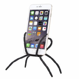 Wholesale Portable Spider Flexible Cell Phone Holder Hanging Car Mount Holder Stand for iphone Plus for Samsung Galaxy Note