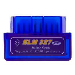 Scanner diagnostique OBD pour voiture automobile scanner automatique Mini V2.1 ELM327 OBD2 ELM 327 Bluetooth Interface Auto Car Scanner