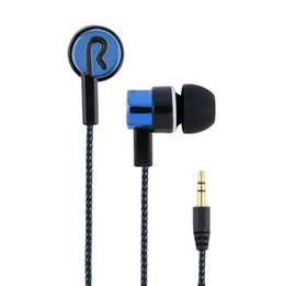 $enCountryForm.capitalKeyWord UK - 2016 New Arrival Earphones Jack Standard Noise Isolating 1.1M Reflective Fiber Cloth Line 3.5mm Stereo In-ear Earphone Earbuds Headphones