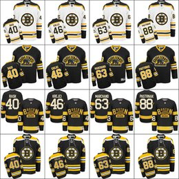 Boston Bruins 2016 Winter Classic Jersey Black 46 David Krejci 40 Tuukka  Rask 63 Brad Marchand 88 David Pastrnak Ice Hockey Jerseys d8a679a5a