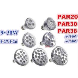 Par38 sPotlight bulb online shopping - traic dimmabe PAR20 PAR30 PAR38 LED Spotlight led light bulbs par20 W W par30 W W par38 W W dimmable function