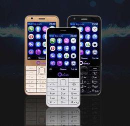 big screen cell phones 2019 - Oeina 230 four SIM quad SIM cards 2.8 inch HD big screen 4 SIM card 4 standby Dual TF card dual FM camera cell mobile ph