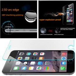 $enCountryForm.capitalKeyWord Australia - For iphone7 Premium Tempered Glass film Screen Protectors Anti-Scratch Anti-finger Explosionproof Screen guard For iphone 7 plus with retail