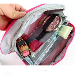 Colorful multifunctional hand bag nylon book bag Cosmetic bag medical items  private small objects in the package bag to receive bag