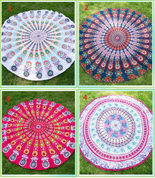 $enCountryForm.capitalKeyWord NZ - 16 patterns Europe style Round Mandala Beach Towel Covers up Towels Printed Tapestry Hippy Boho Tablecloth Bohemian scarf Shawl Pashmina