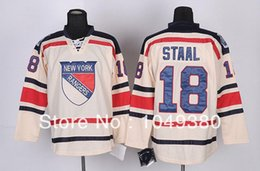 sports shoes c0ec9 69f5a new york rangers 18 marc staal 2012 winter classic cream jersey