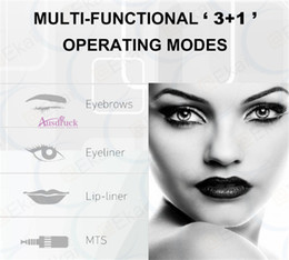 RotaRy peRmanent makeup eyebRow online shopping - Permanent Makeup Tattoo Machine Artmex Eye Brow Lip Rotary Pen V6 MTS PMU System
