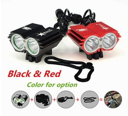 Battery pack headlamps online shopping - SolarStorm Lm x XM L U2 LED Front Bicycle Bike HeadLight Headlamp Lamp Light Head Modes Battery Pack Charger