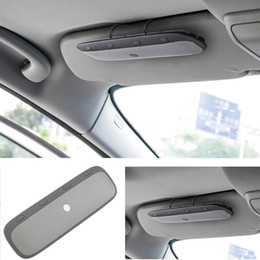 Wholesale Model TZ900 Car Kit Bluetooth Speakerphone Handsfree Multinational Wireless SUN Shield USB Multipoint Auto Speaker Phone Hands Call FREE