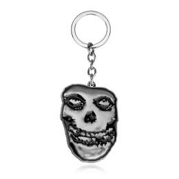 $enCountryForm.capitalKeyWord NZ - Trendy Jewelry Silver Plated Alloy men Suicide Squad clown KeyChain grimace mask KeyChain Skeleton skull Key Chain Ring Pendant 2018 y039