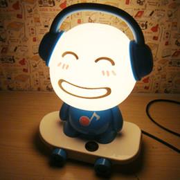 Diy Mushroom Light Canada - Cartoon Lamps DJ Bedroom Lights Child Bedside Lamp Night Light Baby Lamp With EU Plug 110cm Wire Free Shipping