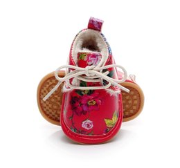 $enCountryForm.capitalKeyWord UK - hot sell hard sole winter super warm fur pu leather floral style baby moccasins shoes baby girl boys shoes baby boots