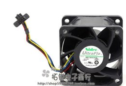 12v radiator fan 2020 - NIDEC V60E12BS4CA3-09 12V 2.53A 60*60*38mm server radiator fan discount 12v radiator fan