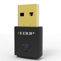 Discount ethernet transmitter - High Quality EDUP EP-N1557 300Mbps Mini USB Lan Wifi Receiver Transmitter 300M Wireless Network Card Adapter 100pcs lot