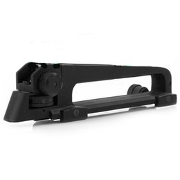 Chinese  Tactical Detachable Carry Handle and rear sight W  See through Picatinny Rail Mount Combo M4 M16 AR15 manufacturers