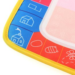 Toy Sets UK - Magic 29X19cm Water Drawing Painting Writing Mat Board with Magic Pen Doodle creative Toy Baby Safe Indoor Gift Eco-friendly