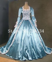 $enCountryForm.capitalKeyWord NZ - Time-limited Marie Antoinette Gothic Victorian Ball Gown Reenactment Stage Costume