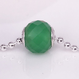$enCountryForm.capitalKeyWord NZ - Free Shipping Authentic 925 Sterling Silver Essence Style PROSPERITY, Green Aventurine Charm Fit DIY Pandora Essence Bracelet 796001AVG