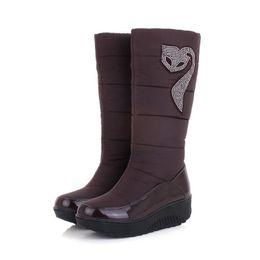 Discount Waterproof Wedge Winter Boots Women | 2017 Waterproof ...