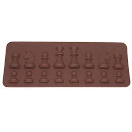 $enCountryForm.capitalKeyWord UK - Wholesale- DAY DAY FUN 2017 Women Fashion Kitchen Tools Mold 15-Cavity Chess Shaped Ice Chocolate Sugar Cake Silicone Mini Cube Tray Chess
